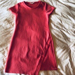 Pink Rose midi dress